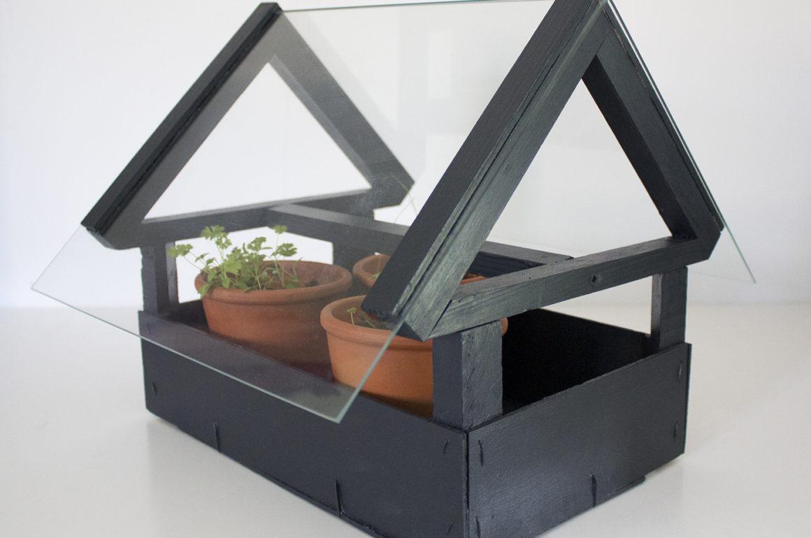 DIY mini serre