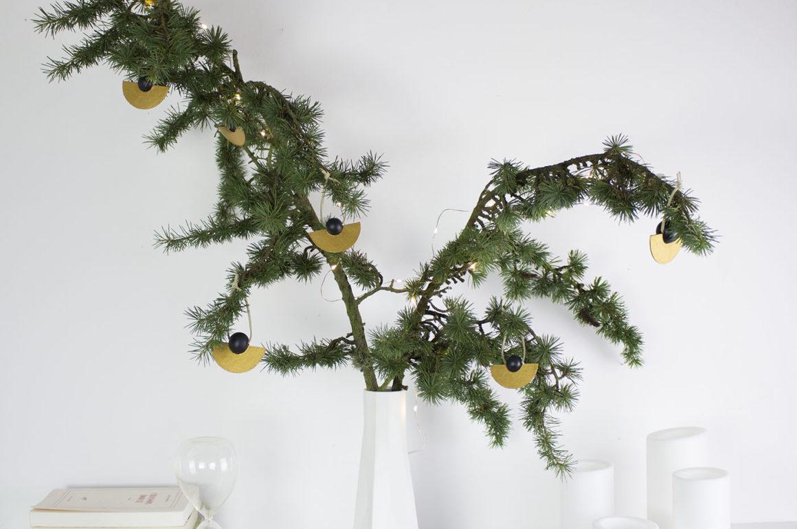 DIY decoration de sapin