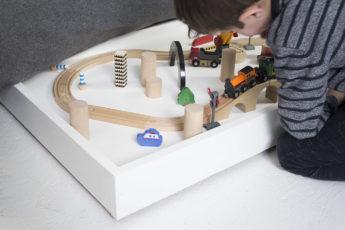 DIY plateau roulant